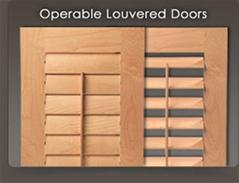 custom louvered doors wood shutters for cabinets and