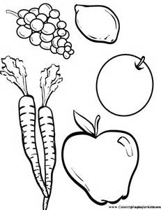 Galerry cornucopia fruit coloring pages