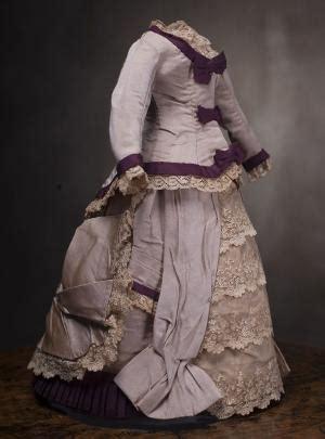 46cm fashion doll tulle lace antique mignonette doll dress hat purse