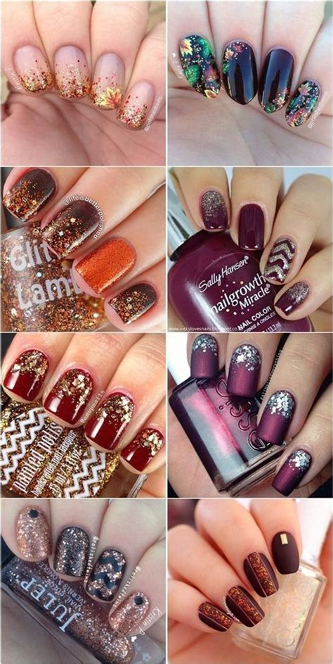fall nail colors and designs best 25 fall nail designs ideas on fall nails