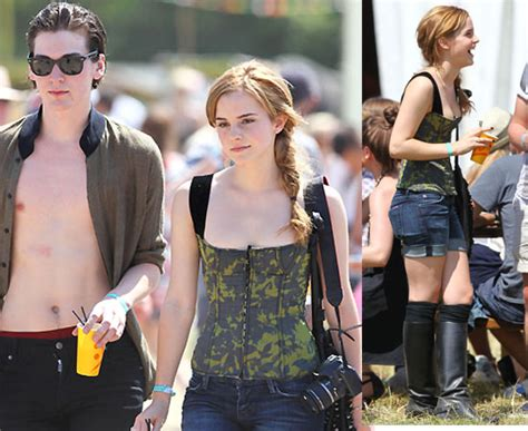 emma watson and george craig pictures of harry potter star emma watson with george