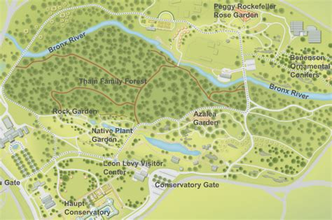 New York Botanical Garden Map Clocktowertenants 7 10 11 New York Botanical Garden Map