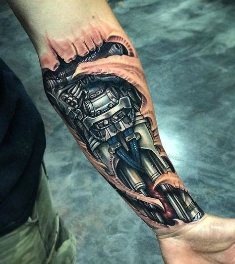 biomechanical tattoo navrhy 67 nejlepš 237 ch obr 225 zků na pinterestu na t 233 ma 3d tattoos