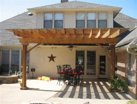 creating an outdoor patio wooden patio covers give high aesthetic value and best