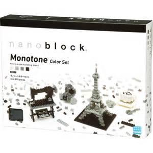 monotone color nanoblock nb 015 monotone color set