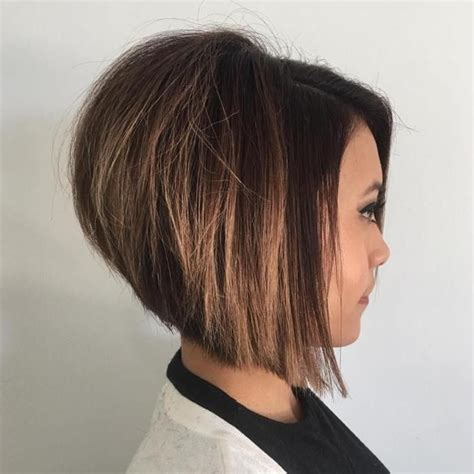 stacked hairstyles for fuller figure the full stack 30 hottest stacked haircuts caramel