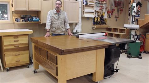 outfeed table plans to earth woodworkingdown to earth woodworkingsawstop