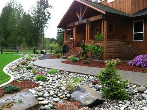 rock backyard landscaping ideas 25 trending landscaping ideas on