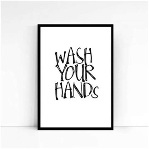 bathroom signs wash your hands best wash your hands sign products on wanelo