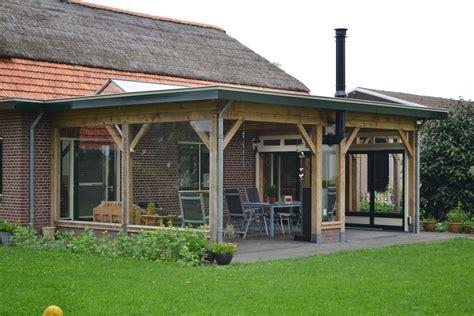 offene veranda landelijke veranda tuintuin