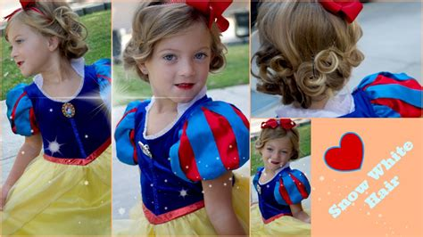 Snow White Hairstyle by Diy Snow White Hair