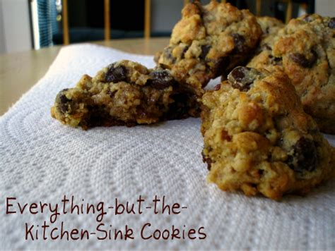 Everything But The Kitchen Sink Cookies Sweet Tooth Everything But The Kitchen Sink Cookies