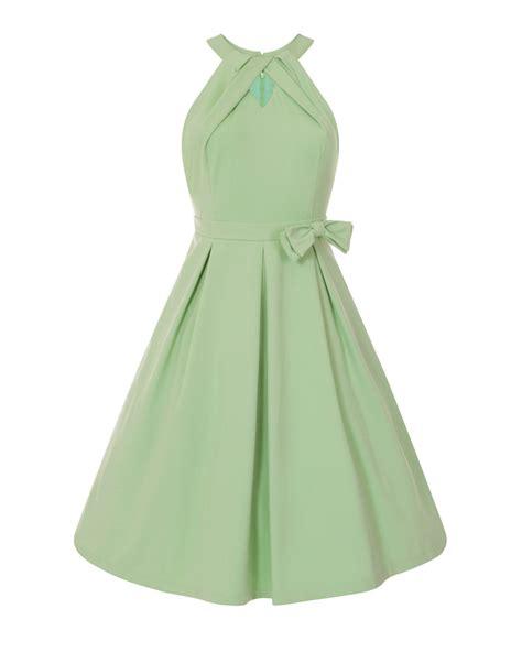 green swing cherel pastel green swing dress