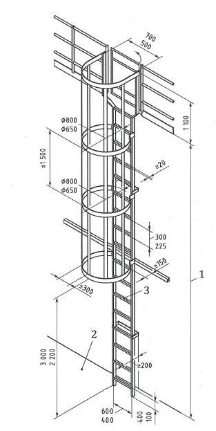 corrimano scale normativa progettazione scale normativa