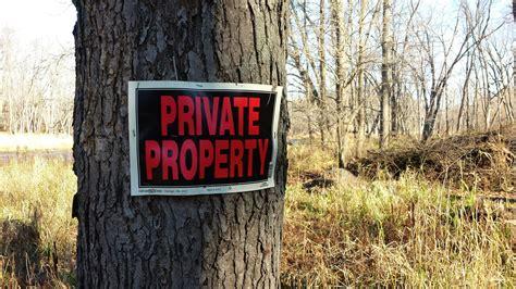 can wardens trespass hunters landowners must heed trespass