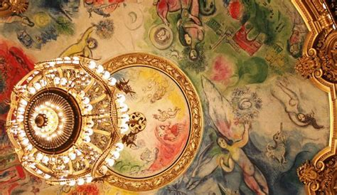 Plafond Opera Garnier by Chagall Des Notes En Couleurs L Express