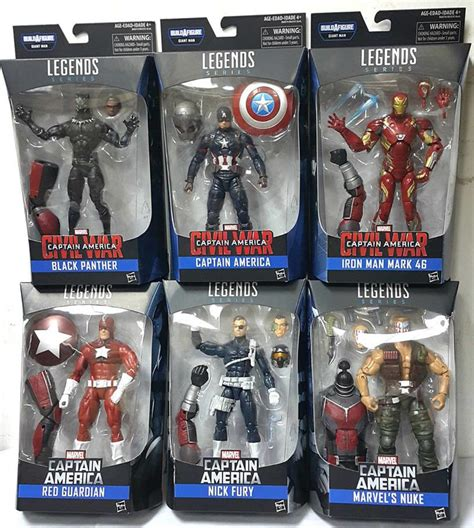 Lego Bootleg Iron War Machine Marvel Civil War Lele marvel legends civil war series 6 quot packaged