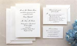wedding invitation suite the conservatory suite formal letterpress wedding