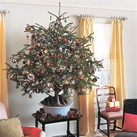 what to use instead of a christmas tree pinecone tree martha stewart