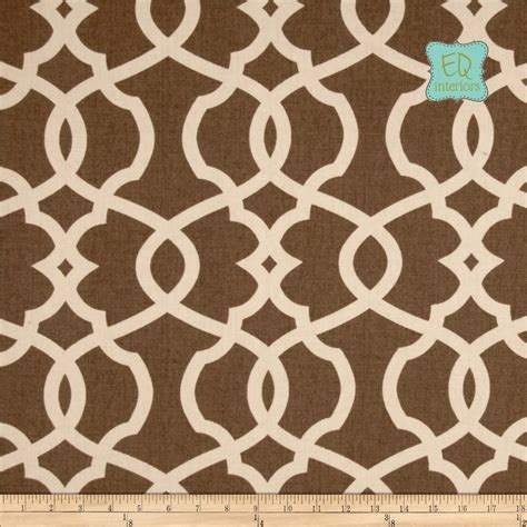 brown geometric curtains hand crafted magnolia emory geometric lattice trellis