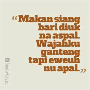 the gorolong sunda quotes lucu