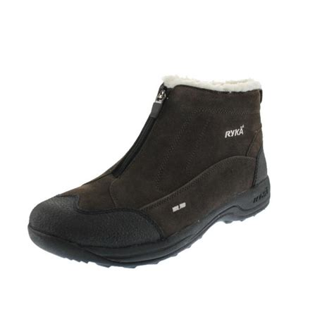 ryka 3707 womens terrain suede athletic casual ankle boots