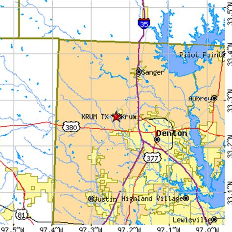 krum texas map krum texas tx population data races housing economy