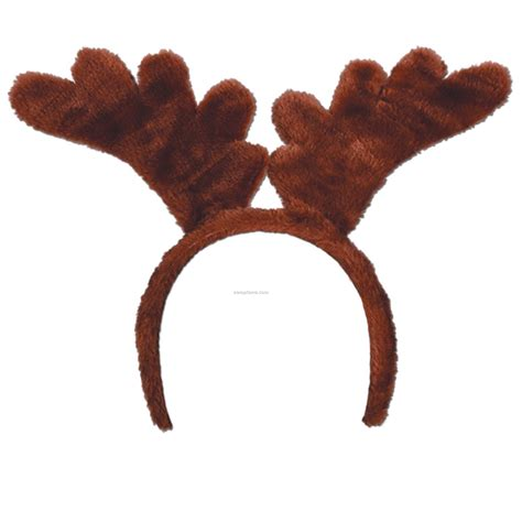 soft touch reindeer antlers headband china wholesale soft