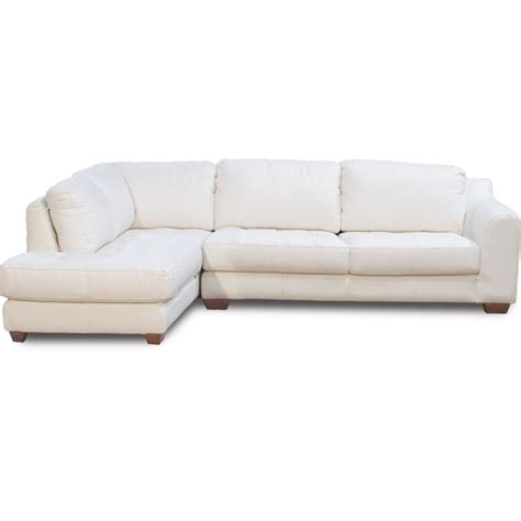 Zen Collection Left Facing Chaise Sectional Sectional Sofas