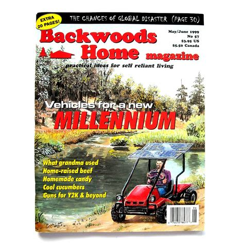backwoods home magazine 57 1999