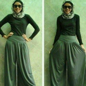 Gamis Rubiah Kulot Jilbab Setelan Blouse Jumpsuit Vest capria outlet celana kulot