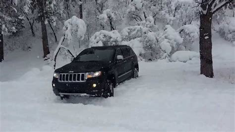 Jeep Grand In Snow 2013 Grand In The Snow