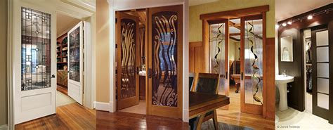 interior decorative glass doors add style to your interior space with decorative glass
