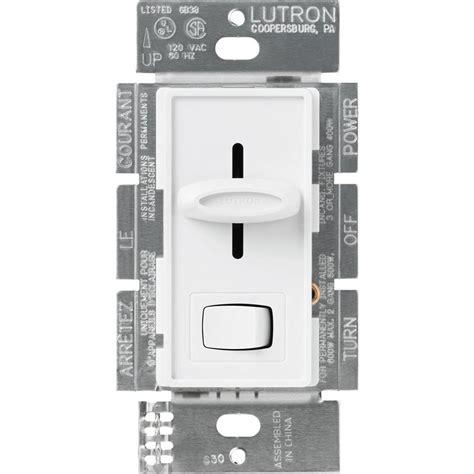 lutron diva  watt single pole preset electronic