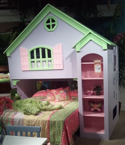 little girl house bed for the house pinterest girl