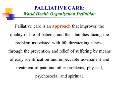Comfort Care Definition by Palliative Care Issues In End Stage Renal Disease Ppt