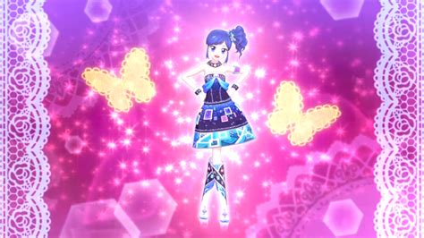 Aikatsu Bottoms Cool Flower Collection sparkling noir coord aikatsu wiki