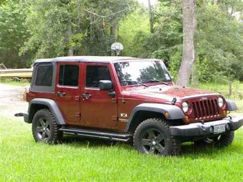 buy used 2007 jeep wrangler jk 4x4 rock 6 speed