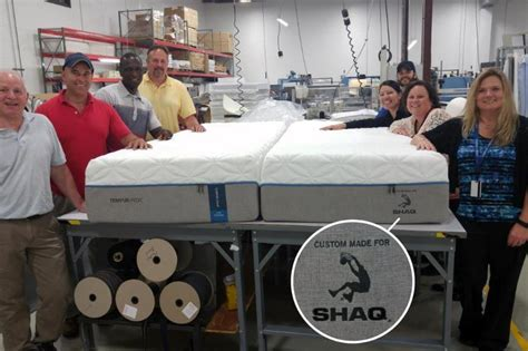 shaquille o neal bed tempur pedic makes shaq sized bed for 7 1 quot shaquille o neal bleacher report
