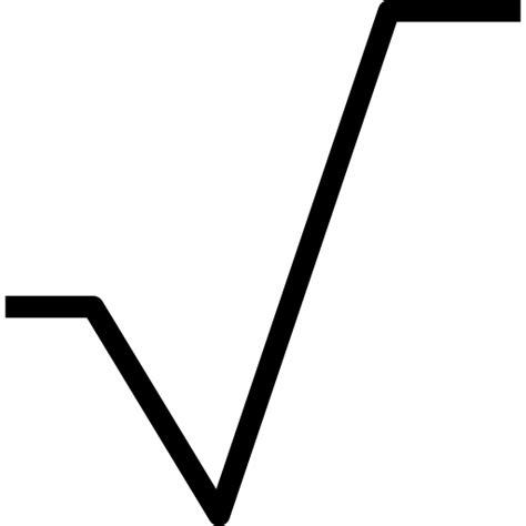 simbolo raiz cuadrada en word ra 237 z cuadrada iconos gratis de interfaz