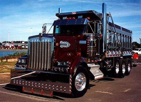 scow dump truck kenworth dump truck flickr photo sharing