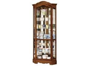 Curio Cabinet Corner Oak Howard Miller Jamestown Ii Oak Corner Curio