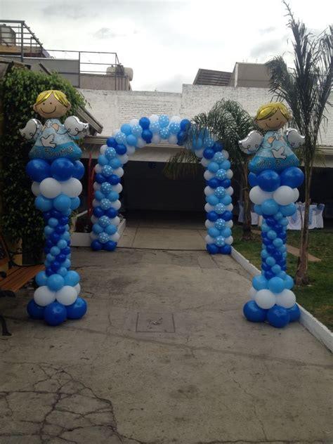 decoracion de globos para bautizo decoracion de globos para bautizo globos con helio decoraci 243 n para bautizo ni 241 o decoraciones con globos en 2019 boy baptism centerpieces