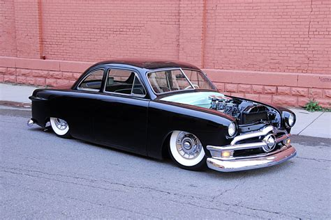 Custom Custom this mild custom 1950 ford custom coupe has plenty of