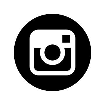 instagram black white icon ig icon instagram logo