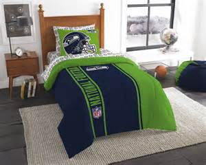 Seattle Seahawks Bedroom by Nfl Seattle Seahawks Size Bed In A Bag Buy At Team
