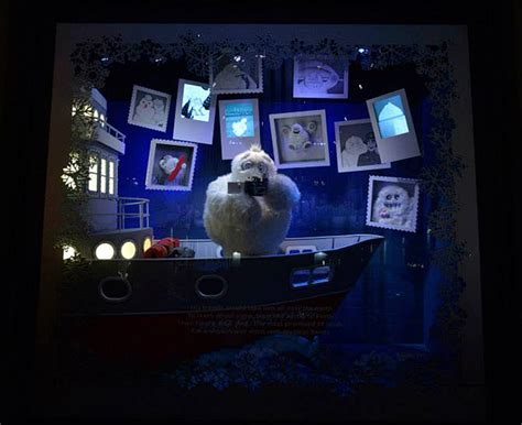 3d santa christmas light projection show saks fifth avenues dramatic 3d light projection holiday
