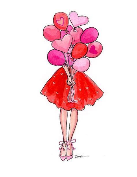 clipart fashion heart 17 meilleures id 233 es 224 propos de illustration de ballon sur
