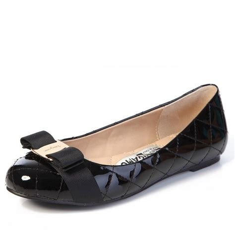 ferragamo shoes salvatore ferragamo varina s flats black fr 00276