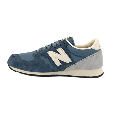 new balance 420 sneakers new balance 420 u420srlb mens laced suede trainers